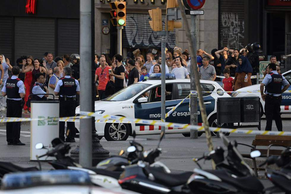 Sobe número de mortos em ataques na Catalunha