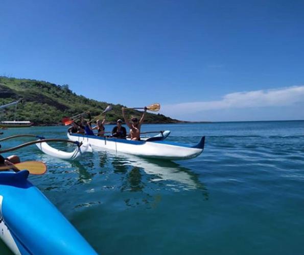 Canoas Havaianas: Desafio promove 28 km de remada no mar de Guarapari - Jornal Folha Vitória