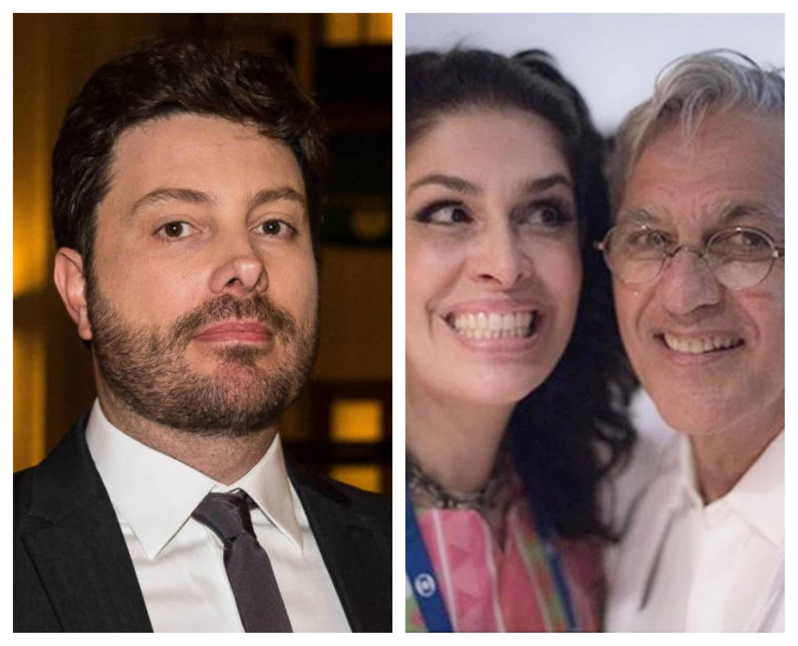 5c54e7575 Caetano Veloso e Paula Lavigne comemoram prisão de Danilo Gentili ...