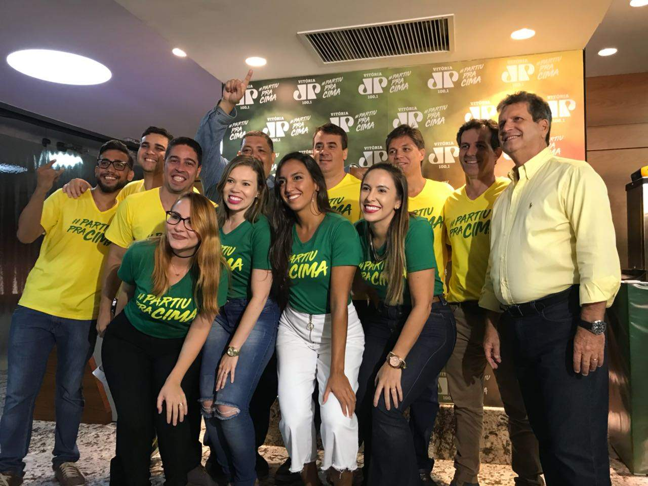 2baf1253a6 Jovem Pan Vitória lança campanha  PartiuPraCima