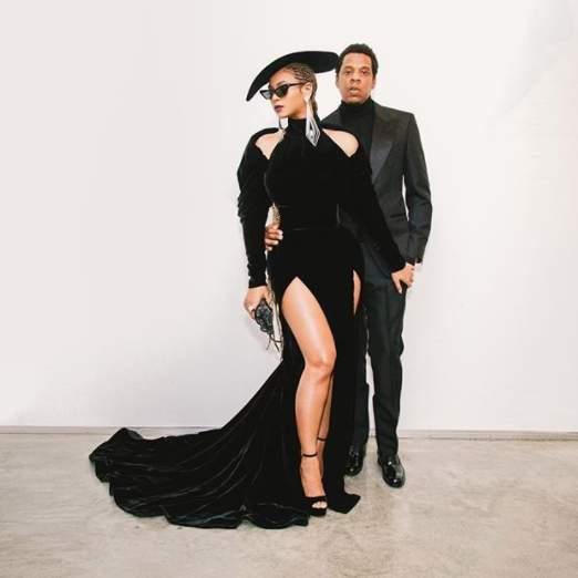 85e151db9 Beyoncé, Jay-Z e Blue Ivy roubam a cena no Grammy 2018