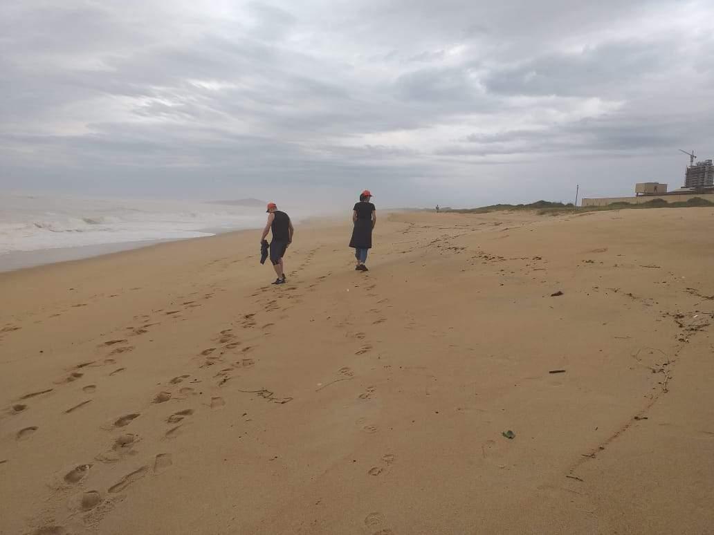 Manchas de óleo: praias de Vila Velha são vistoriadas - Jornal Folha Vitória