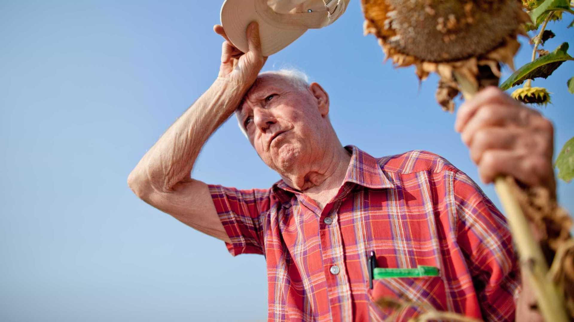 Calor excessivo ameaça saúde dos idosos