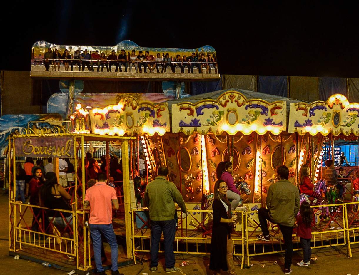 Aberto credenciamento para parque de diversões da Festa de Cachoeiro