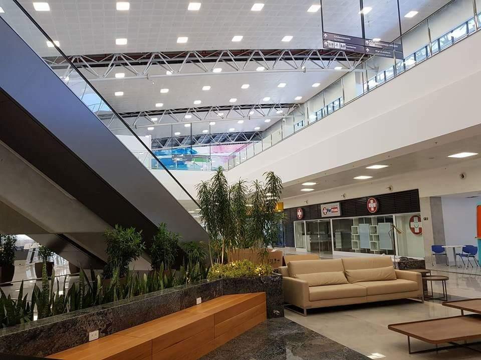 Aeroporto De Vitoria : Usuários aprovam novo aeroporto de vitória