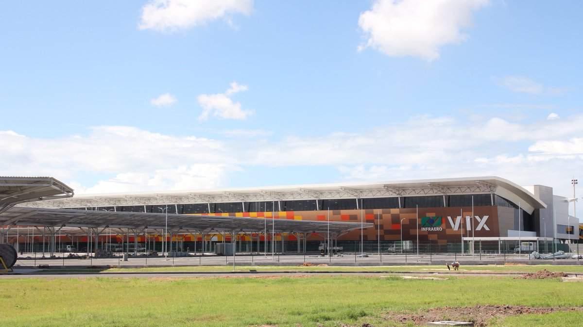 Resultado de imagen para infraero novo aeroporto vitória