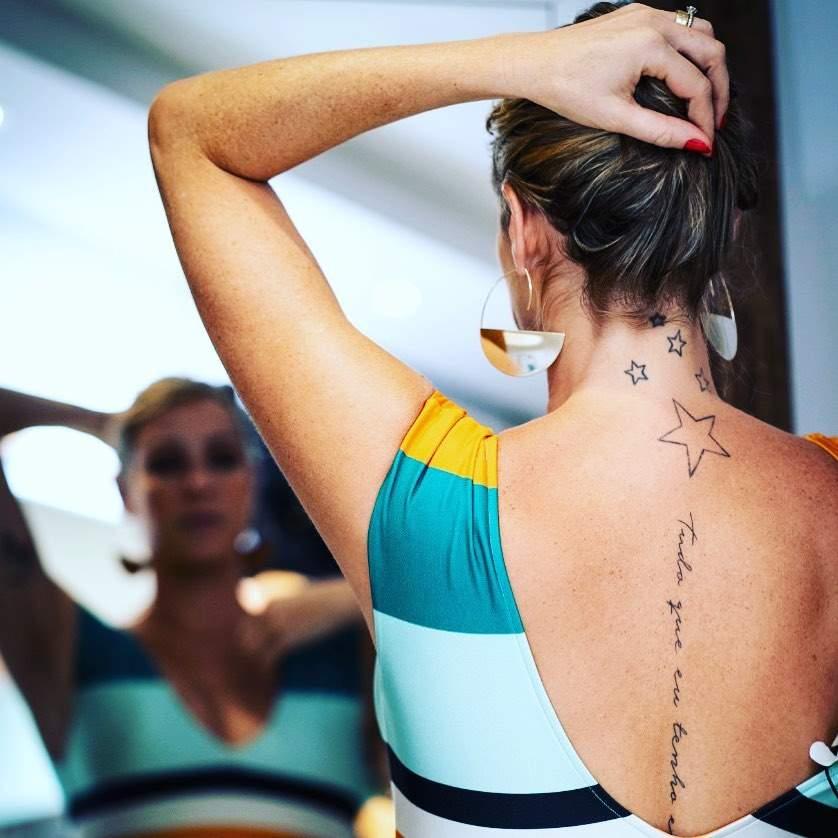Luana Piovani Faz Nova Tatuagem Com Frase Inusitada Confira