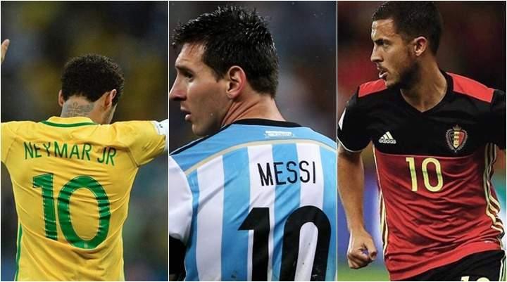 2912aebce694c Receber a camisa 10 para atuar na Copa do Mundo deve estar entre as maiores  honrarias que um jogador de futebol pode ter ao longo da carreira.