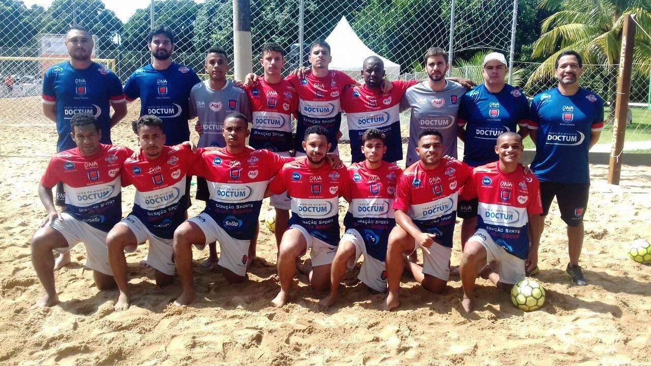 Geração Doctum supera Ufes na estreia do Campeonato Metropolitano de Beach  Soccer 3a583394e4714