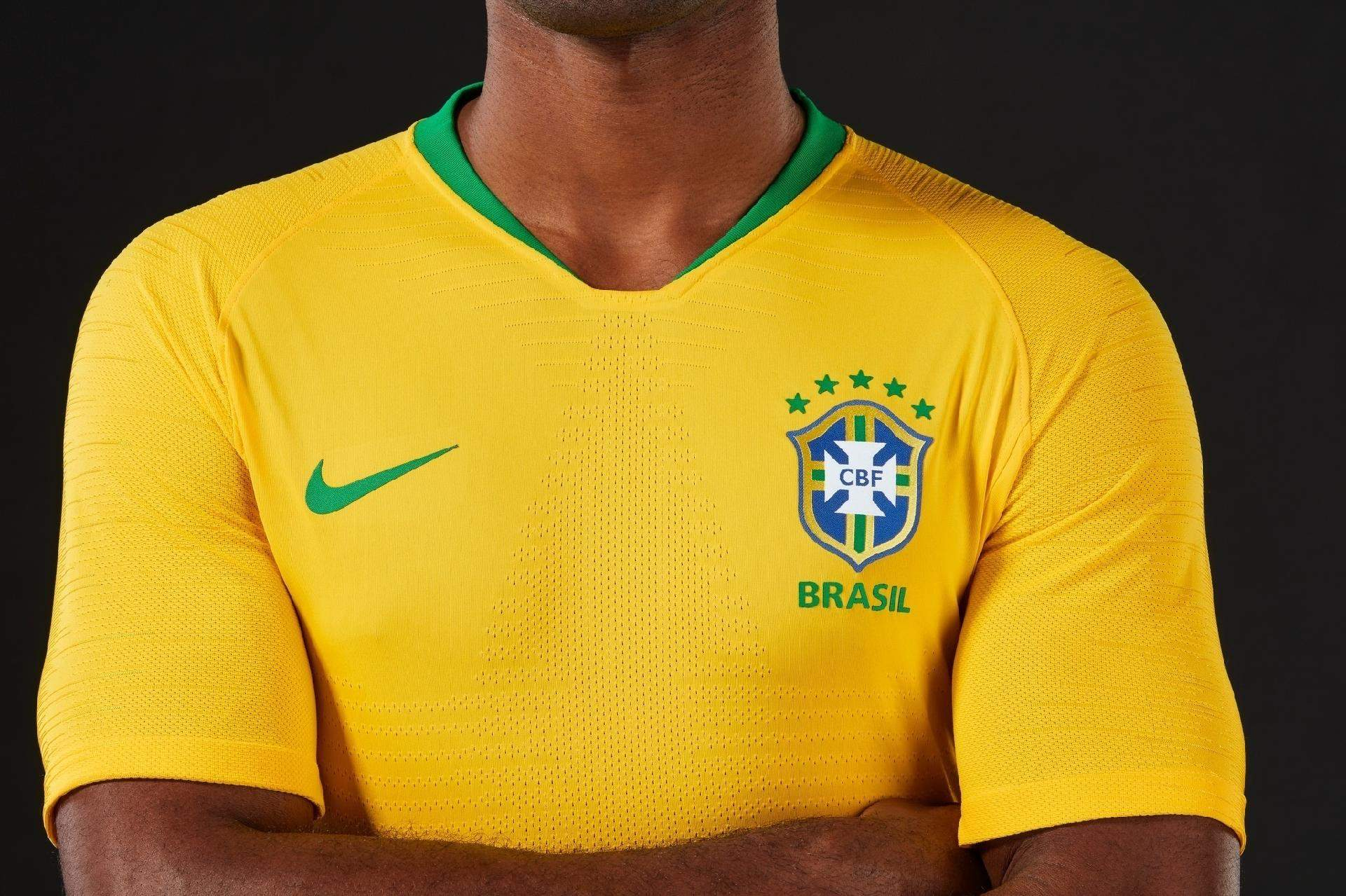 d17a2249bd Veja a evolução do uniforme da Seleção Brasileira nas Copas do Mundo