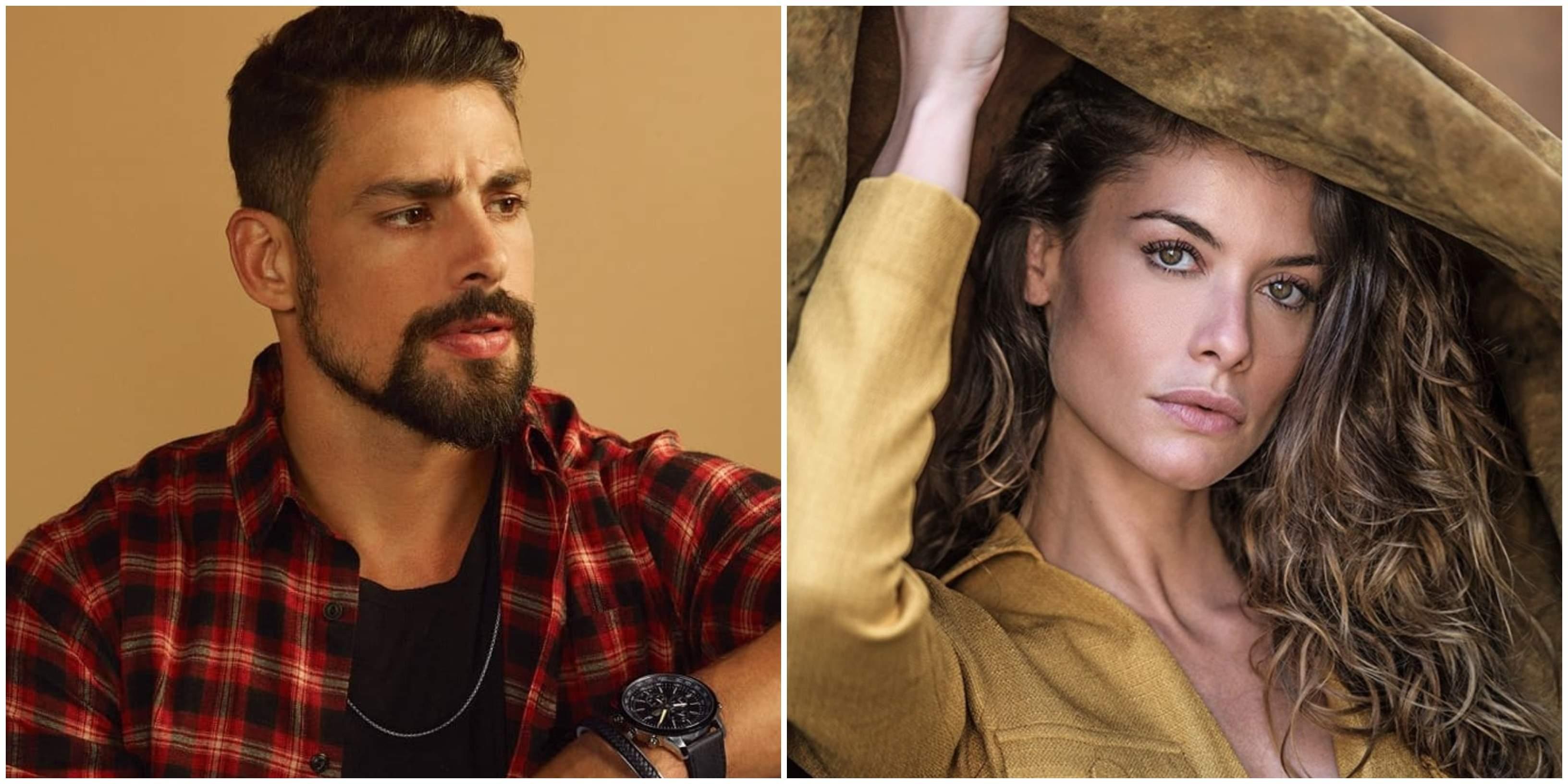 Alinne Moraes Sex cauã reymond e ex-esposa, alinne moraes, vão atuar juntos em