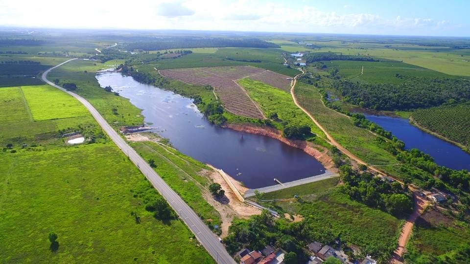 Barragem inaugurada em Jaguaré tem capacidade para 433 milhões de litros de água